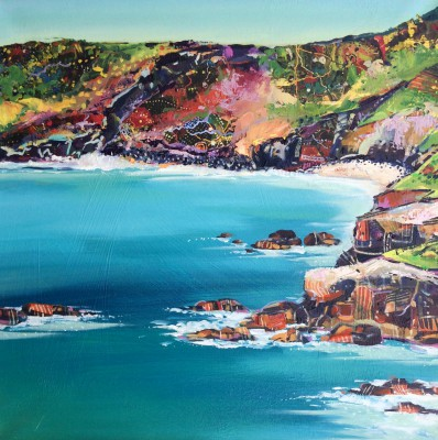 Scottish Artist Hope BLAMIRE - Cornish Coast