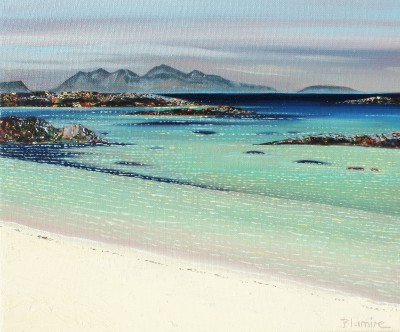 Hope BLAMIRE - Glistening Shoreline, Arisaig