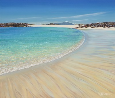 Scottish Artist Hope BLAMIRE - Summer Tide, Torastan, Isle of Coll