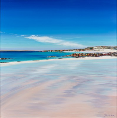 Scottish Artist Hope BLAMIRE - Wet Sand, Caolas, Isle of Tiree