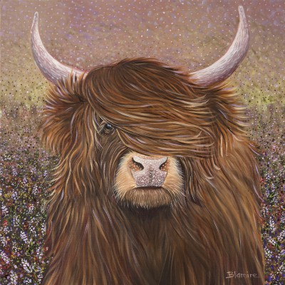 Scottish Artist Hope BLAMIRE - Highland Heather