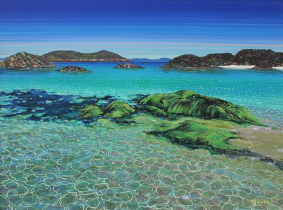 Scottish Artist Hope BLAMIRE - Glistening Shoreline, Isle of Coll