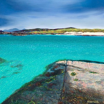 Scottish Artist Hope BLAMIRE - Sanna Bay Rocks, Ardnamurchan