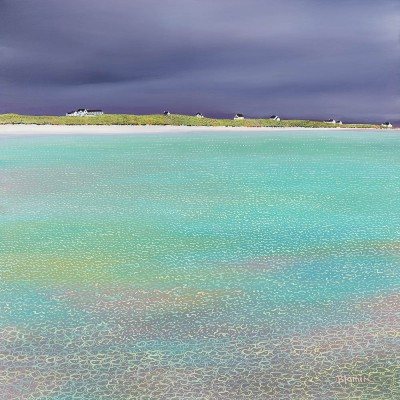 Scottish Artist Hope BLAMIRE - The Calm before the Storm, Tiree