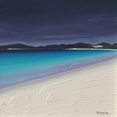 Scottish Artist Hope BLAMIRE - Darkening Skies, Harris