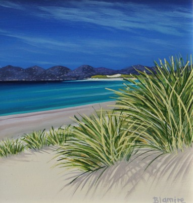 Scottish Artist Hope BLAMIRE - Harris Dunes