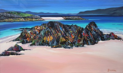 Scottish Artist Hope BLAMIRE - Rocks of Peace
