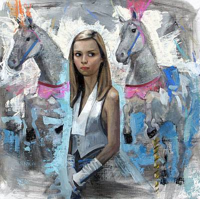 Scottish Artist Denise FINDLAY - Horses for Courses