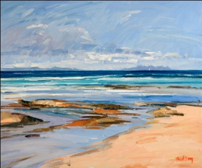 Scottish Artist Robert KELSEY - Islay and Jura