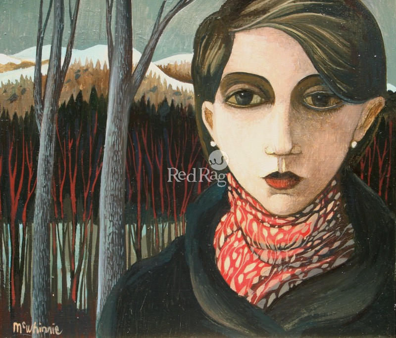 Ian McWHINNIE - The Red Scarf