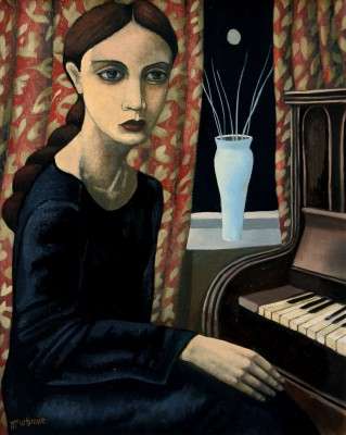 Scottish Artist Ian McWHINNIE -  Pianissimo