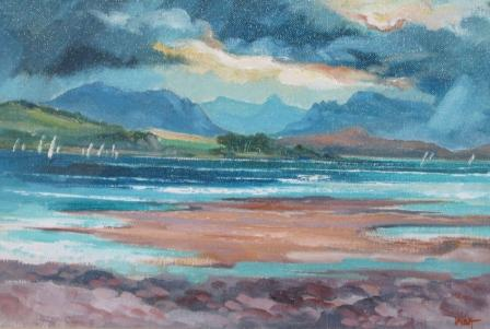 James WATT - Storm Clouds Over Arran