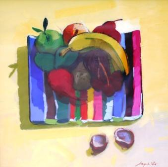 Scottish Artist Jacqueline ORR - Five a Day