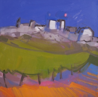 Scottish Artist Jacqueline ORR - Vineyard, Aigeze