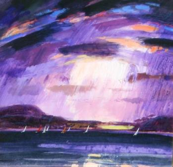 Scottish Artist James DAVIS - Flood of Light