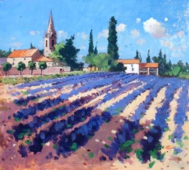 James ORR - Lavender Fields - Ardeche
