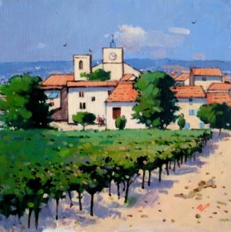 James ORR - Boisson, Provence