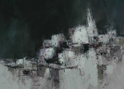 Scottish Artist James SOMERVILLE - Cuenca - Spain