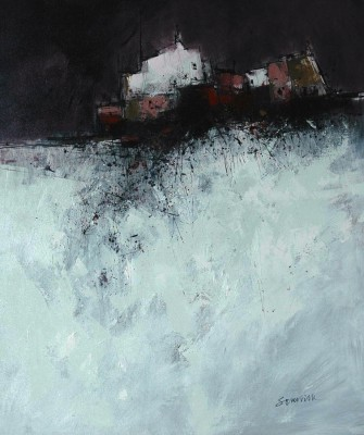 Scottish Artist James SOMERVILLE - Early Snow