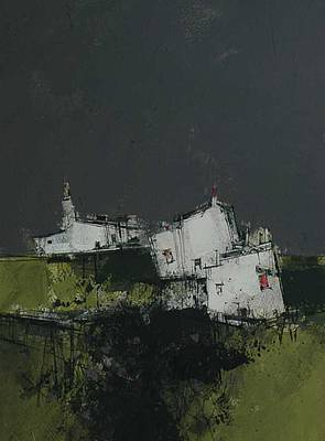 Scottish Artist James SOMERVILLE - Highland Croft