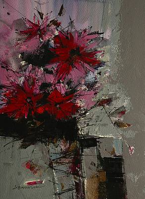 Scottish Artist James SOMERVILLE - Summer Flowers