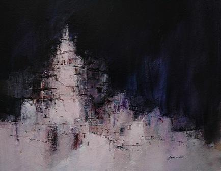 Scottish Artist James SOMERVILLE - Thunderstorm Toledo