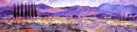 Scottish Artist James DAVIS - Valley of Vinci