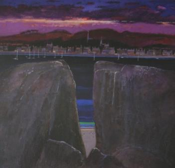Scottish Artist James DAVIS - Safe Harbour