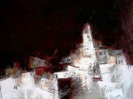 'Spanish Requiem' painting by artist James SOMERVILLE