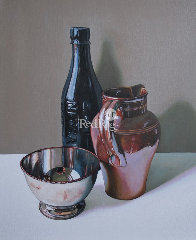 Jane CRUICKSHANK - Still life with Stoneware Jug I