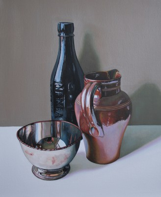 Scottish Artist Jane CRUICKSHANK - Still life with Stoneware Jug I