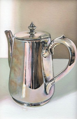 Scottish Artist Jane CRUICKSHANK - Small Teapot