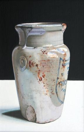 Scottish Artist Jane CRUICKSHANK - Stoneware Jar