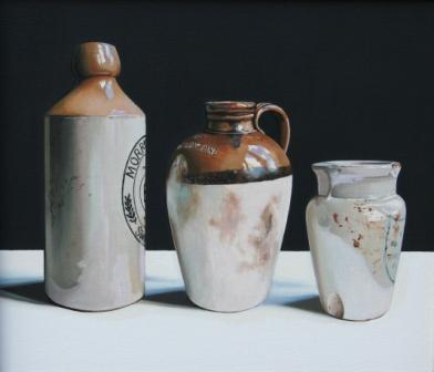Jane CRUICKSHANK - Stoneware Bottles
