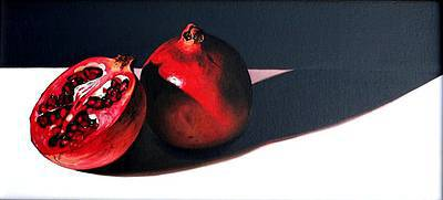 Scottish Artist Jane CRUICKSHANK - Pomegranates