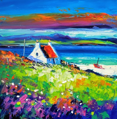 Jean FEENEY - Spring Sunset, Islay