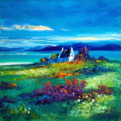 Jean FEENEY - Summer Sky over Scalpay
