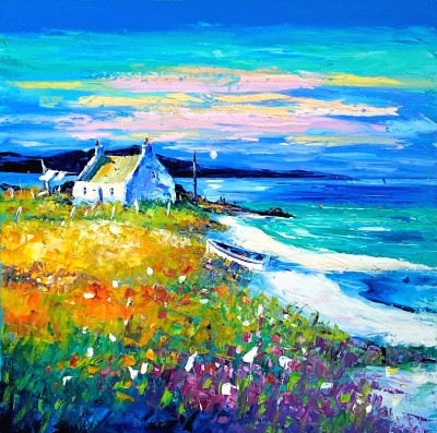 Jean FEENEY - Evening Approaches, Isle of Lewis