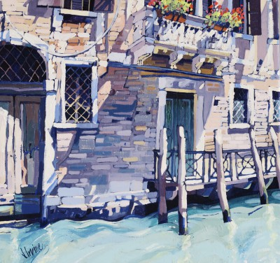 Scottish Artist Jennifer IRVINE - Sunlight, Venice