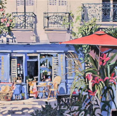 Scottish Artist Jennifer IRVINE - Hotel Chinon