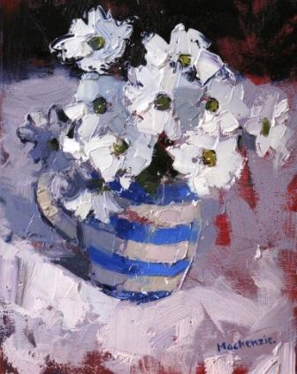 Scottish Artist Jennifer MacKENZIE - White Flowers