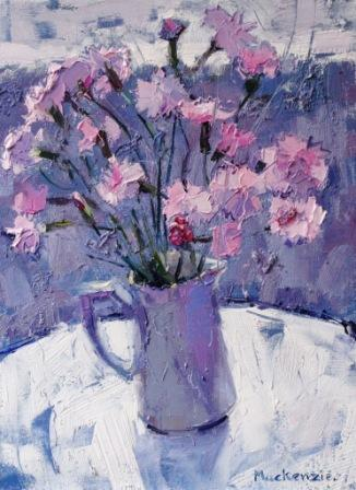 Scottish Artist Jennifer MacKENZIE - Pinks