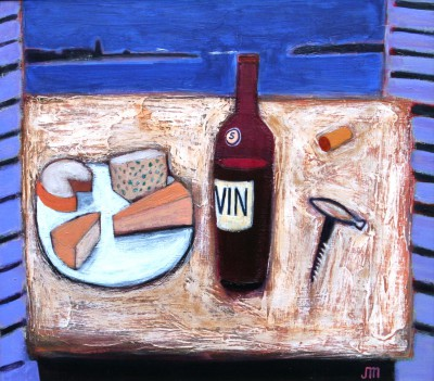 Jock MacINNES RGI - Cheese and Wine, Collioure