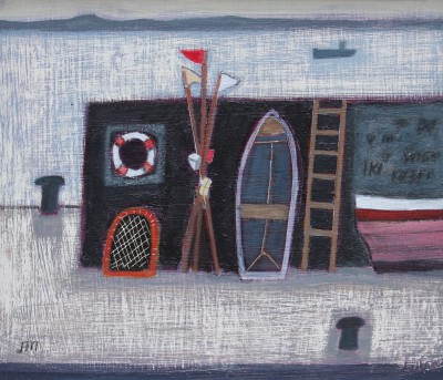 Jock MacINNES RGI - Sea Wall with Life Belt
