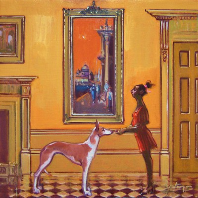Scottish Artist Joe HARGAN - The Treat Room