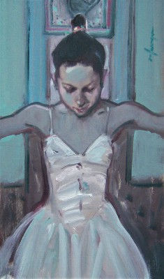 Scottish Artist Joe HARGAN - The Little Dancer