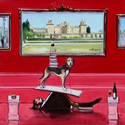 Scottish Artist Joe HARGAN - The Board Meeting