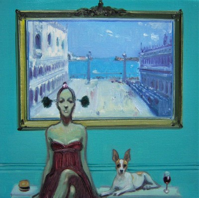 Scottish Artist Joe HARGAN - Room With a View