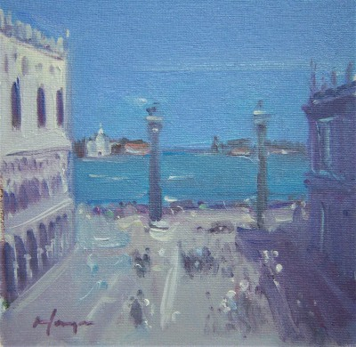 Scottish Artist Joe HARGAN - Piazza Venice