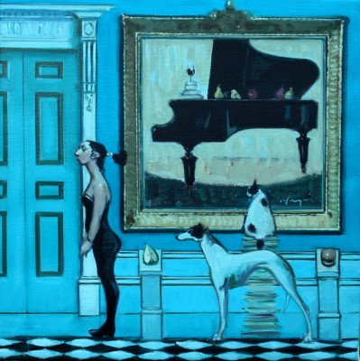 Scottish Artist Joe HARGAN - The Piano Room